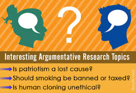 easy yet interesting argumentative research paper topics