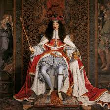 the man who stole the crown jewels in the headlines king charles ii of england in coronation robes credit public