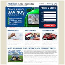 auto insurance quote landing page design templates free auto value quotes