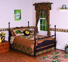 john deere bedding traditional tractor and plaid collection ds 40 by 63 inch set of 2 panels set of 2 john deere d panels by john deere