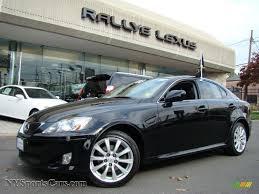 lexus is 250 2008 black.  2008 Obsidian Black  Lexus IS 250 AWD For Is 2008 W