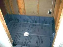 shower pan liner installation install liners installing how to a fiberglass oatey