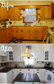 Remodeling Old Kitchen Country Kitchen Renovation Simplymaggiecom