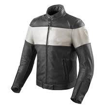 vintage leather jacket black white zoom