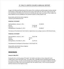 financial report template word sample annual financial report template 9 free documents in pdf word