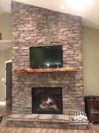 manufactured stone fireplace surround den en manufactured stone manufactured stone fireplace mantels