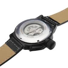 winner military simple style mechanical leather men watch us winner military simple style mechanical leather men watch