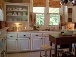 Rustic Kitchen Flooring Kitchen Style Black Subway Tile Backsplash For Rustic Kitchen