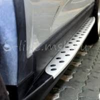 <b>Подножки боковые</b> ОЕМ <b>BMW</b> Style для KIA Sorento (КИА ...