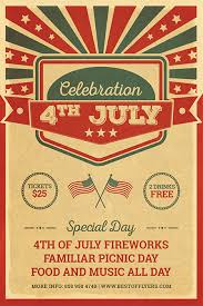 4th July Celebration Free Poster Template Free Flyer For Download
