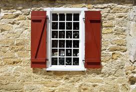 wood vintage antique retro window town old wall stone red brown exterior stone wall brick window