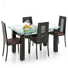 glass dining table sets india. royaloak county dining table set with four chairs glass sets india e