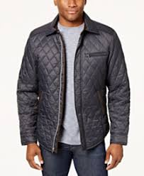 Quilted Mens Jackets & Coats - Macy's & Tasso Elba Men's Quilted Jacket, Created for Macy's Adamdwight.com