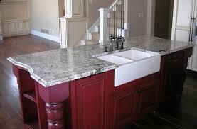 delicatus island farm sink granite countertop patio natural stone kitchen countertop