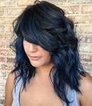 Black hair color with blue tint pictures