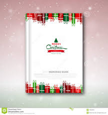 christmas book cover or flyer template stock illustration image christmas book cover or flyer template royalty stock photography