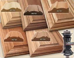 profiles of the mlcs mitered door frame router bits