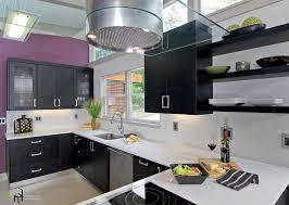 kitchen design purple and white. kitchen outstanding design awesome purple wall idea black cabinet futuristic chandelier concrete flooring and white i