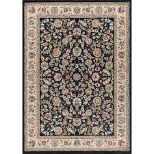 8 x 10 large black gold and ivory area rug laa rc willey furniture