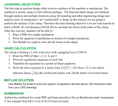 Machine Design Equations Learning Objectives The First Step In Machine Desi