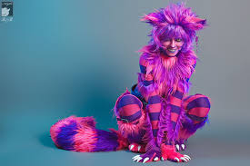 random disney awesome cosplay makeup alice in wonderland outfit cheshire cat costume character handmade ic con