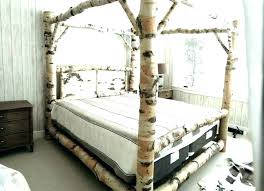 Wood Poster Beds Solid Wood Poster Bed 2 Dark Wood Four Poster Beds ...