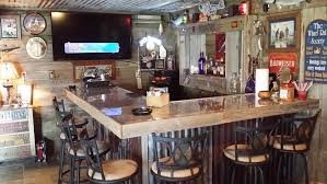 man cave bar. L Shaped Man Cave Bar : Build A By Yourself Man Cave Bar
