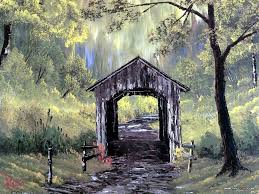 old covered bridge bob ross coveredbride antique beautiful gorgeous wallpaper gallery detail
