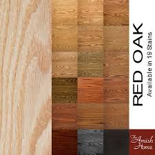 oak wood for furniture. Finish Options - Wood Species \u0026 Stains For Your Handcrafted Furniture | The Amish Home Celebrating 15 Years Of Hardwood Oak