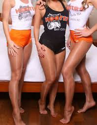 Details About Hooters Girl Uniform Gloss Tights 4 Any Halloween Costume Pick Color A B C D Q