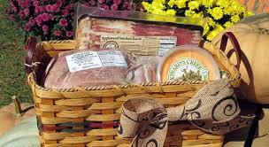 holiday ham gift basket something for everyone basket