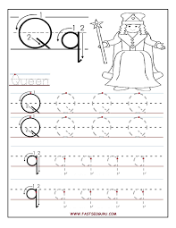 Colorning Sheets Letter Q Worksheets For Preschool Print Worksheet