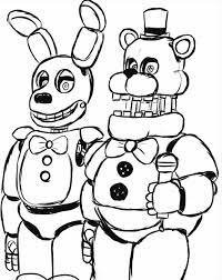 Fnaf Coloring Sheet Ra3m Noted Coloring Pages Five Nights At Freddy