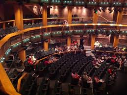 Broad Theater Seating Chart View From Balcony Picture Of Chicago Shakespeare Theater
