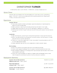 How Craft Perfect Customer Service Resume Using Examples Template