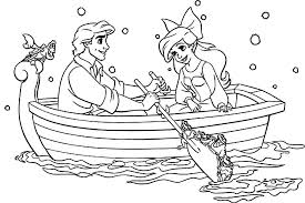 Easy Disney Princess Coloring Pages Little Mermaid Coloring Pages