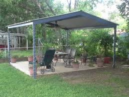 free standing patio covers. McQueeny Texas Free Standing Metal Pavillion Patio Covers