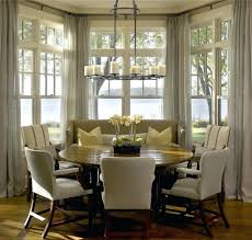 image breakfast nook september decorating. Breakfast Nook Ideas Charming Kitchen Curtains For Bay Windows Decorating With Window Image September D