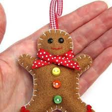 Christmas Creative Christmas Decorations  Hatifers Hand Sewn Easy Christmas Crafts To Sew