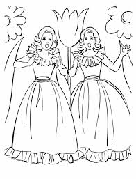 Small Picture BlueBonkers Girl Coloring Pages girls singing Free Printable