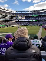 Metlife Stadium Section 148 Home Of New York Jets New