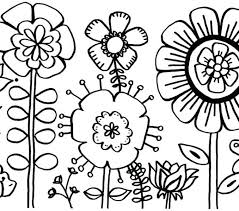 Printable Flower Coloring Pages For Girls Free Coloring Pages For