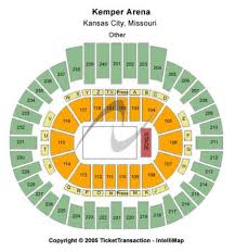 Kemper Arena Tickets And Kemper Arena Seating Chart Buy