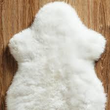 genuine sheepskin pelts sheepskin rug