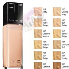 Maybelline Fit Me Foundation Aim Cosmetics Uk Foundation
