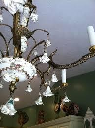 shabby chic chandelier