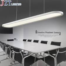 office ceiling lamps. Z Modern LED Acrylic Restaurant Chandelier Ellipse Shape Design Office Ceiling Fan Bar Study Lamp Import Patch Light Lamps L