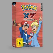 Pokémon Staffel 18: XY - Erkundungen in Kalos 6 DVDs: Amazon.de: Caroline  Combrinck, Kazuomi Koga, Ken'ichi Nishida, Masahiko Watanabe, Yuji Asada,  Fumihiro Yoshimura, Caroline Combrinck: DVD & Blu-ray