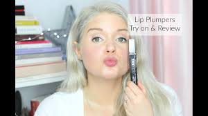 best lip plumpers try on review