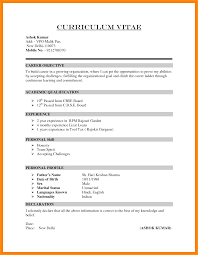 How To Write Curriculum Vitae Interesting How To Write Cv For Job Application48 A Curriculum Vitae